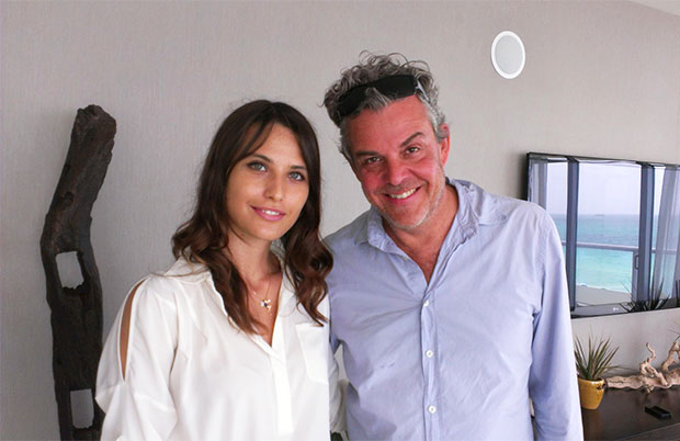with Danny Huston